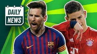 Champions League: FC Bayern-Aus gegen Liverpool, Barcelona weiter! 117 Millionen für Jadon Sancho?