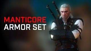Grandmaster Manticore Armor set - The Witcher 3
