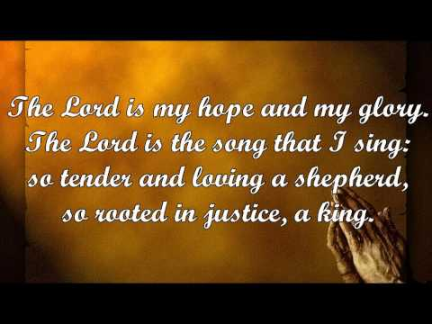 The Lord Is My Hope (M.D. Ridge)