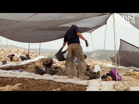 Archaeologists Dig Up the Bible at Ancient City of Shiloh