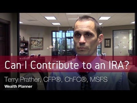Can Contribute To An Ira