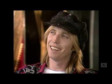 Tom Petty interview  1989  Australian TV  Countdown