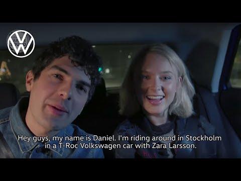 Zara Larsson - Interview in the Volkswagen T-Roc