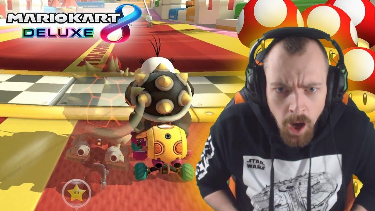 POWER PILZE MIT FOTO FINISH! - Mario Kart 8 Deluxe Gameplay Deutsch | EgoWhity