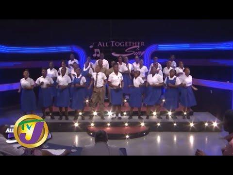 "TVJ All Together Sing: Roger Clarke High Performs "" Missing You Like Crazy"" - October 6 2019"