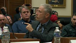 Jon Stewart lashes out at Congress over 9-11 victims fund