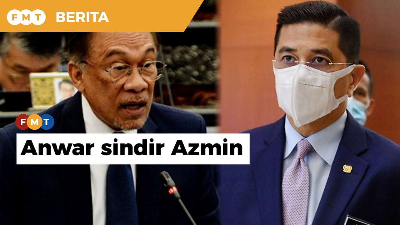 MITI nampak emosi sungguh, macam ada buat salah besar, Anwar sindir Azmin