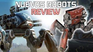 Fujin y Raijin Review Robots Araña - Walking War Robots (WWR)