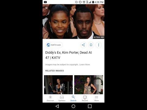 Puff Daddy's wife dead at 47 Kim Porter