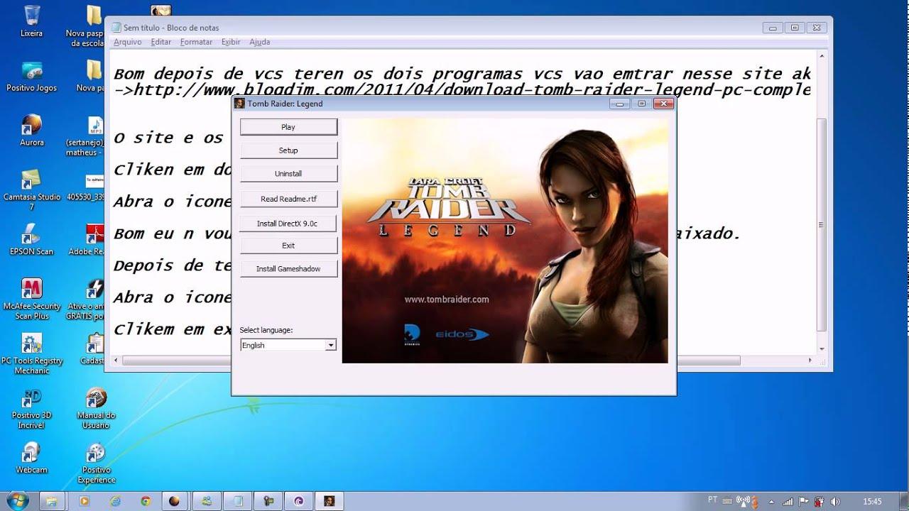 Скачать Tomb Raider Legend For PC Iso