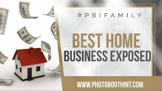 BEST Home Business!! | Photo Booth Business EXPOSED | Video Interview