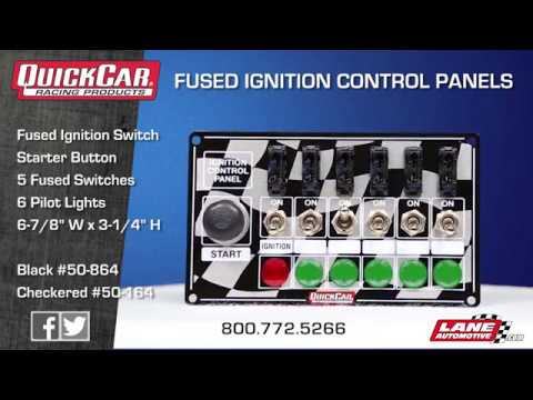 quick car ignition control panel wiring diagram quick quickcar fused ignition control panels on quick car ignition control panel wiring diagram