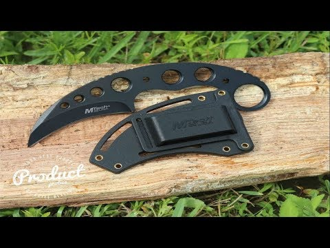 Mtech Tactical Throwing Karambit Neck Knife Review