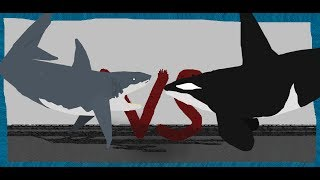 Pivot Battle Arena: Great White Shark VS Orca
