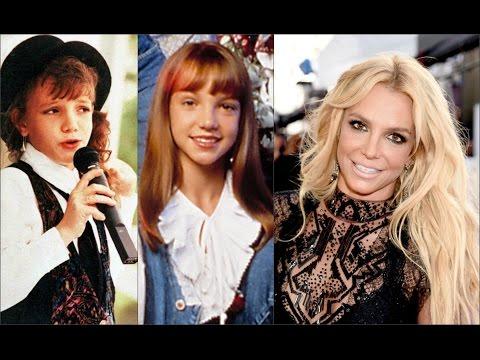Бритни Спирс в детстве и сейчас