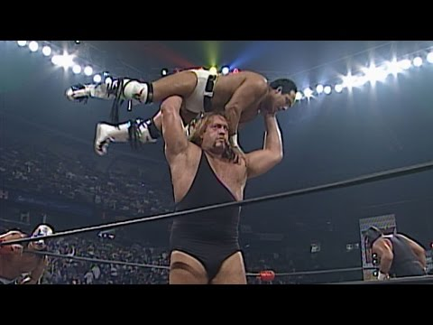 An uninvited Giant causes havoc in a Battle Royal: WCW Monday Nitro, Nov. 3, 1997
