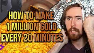 Asmongold - How to Make 1 Million Gold Every 20 Minutes In WoW - Patch 8.2 (Gold-Making Guide)