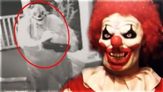 Top 5 SCARIEST Things Caught On Surveillance Footage! (Creepy Clown Sightings , Ghost on Camera)