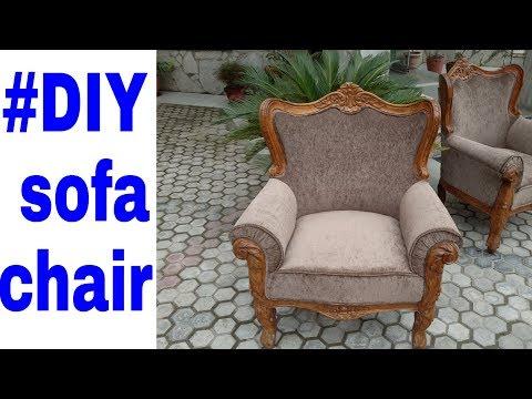 #DIY Sofa chair how to make sofa