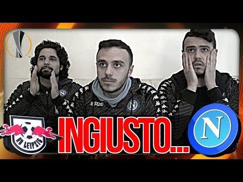 RB LEIPZIG 0-2 NAPOLI | INGIUSTO... LIVE REACTION NAPOLETANI HD