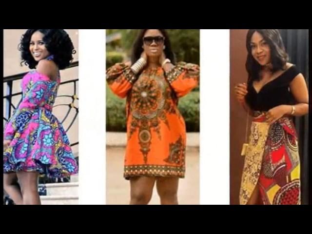 Ankara short gown styles 2017