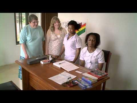 Nurses at Luke Clinic Ghana