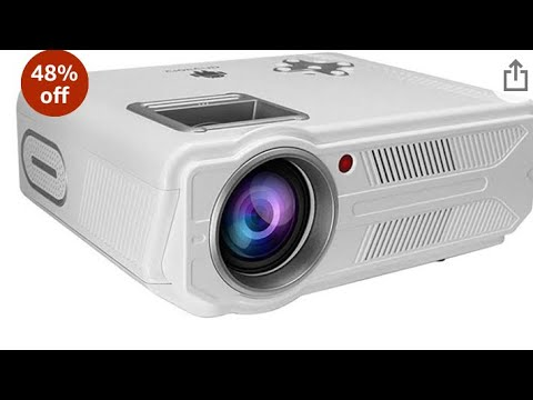 Dinshi led projector unboxing video Telugu
