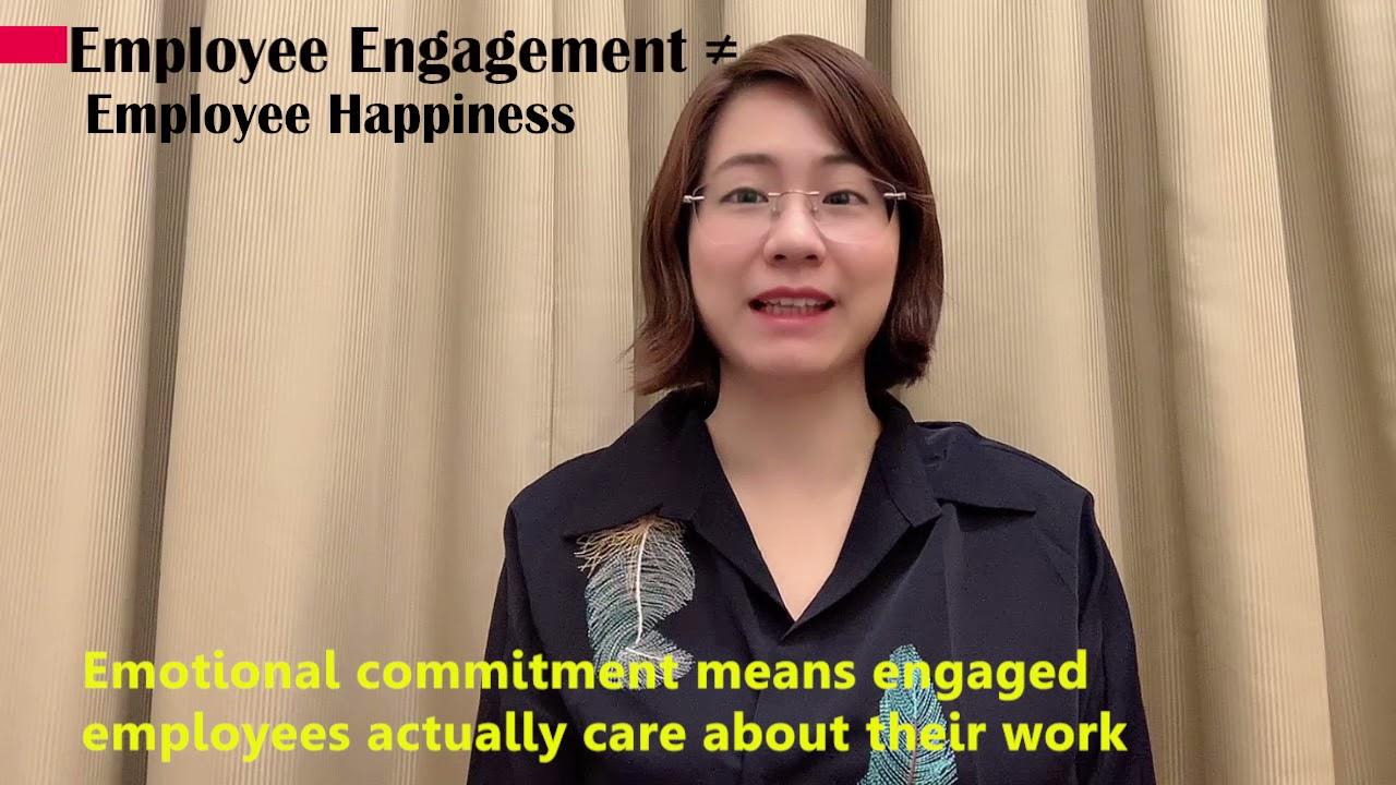 Employee Engagement is not Employee Happiness