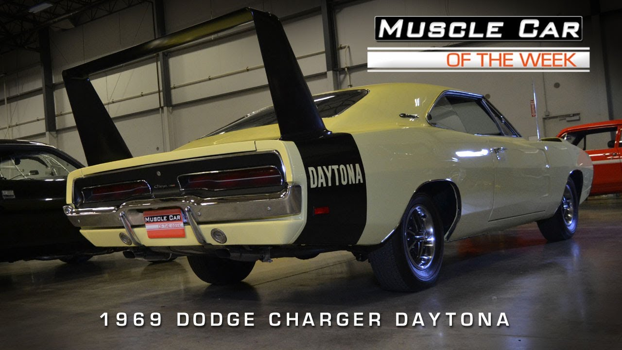 Muscle Car Of The Week Video 42 1969 Dodge Daytona Youtube