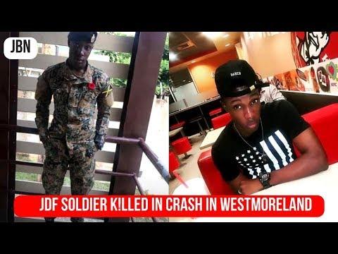 JDF Soldier K!lled In Cr@sh In Westmoreland/JBN