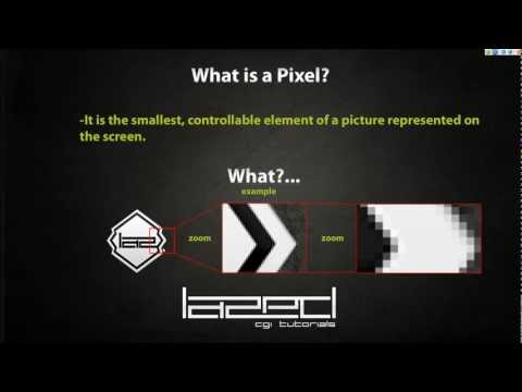 Understanding / What are Pixels & Resolutions (basic beginners) HD