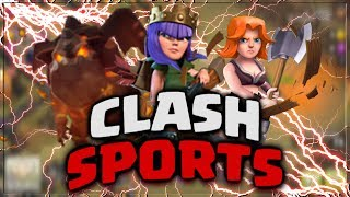 INVISIBLE TROOP GLITCH - Clash Of Clans HACK - Clash Sports 2019 - TROLL / FUNNY / SPELL Moments!