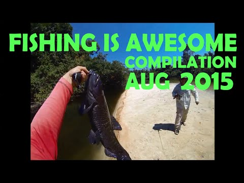 Fishing Is Awesome Compilation August 2015
