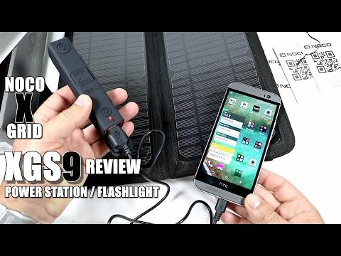 NOCO XGS9 Review – Solar Power Station/Flashlight – [UnBox, Inspection, Setup, Pros & Cons]