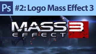 Poradnik: Photoshop #2 - Logo Mass Effect 3