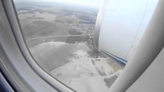 2014-08-25 Ан-148 посадка в Толмачево (Новосибирск OVB UNNT)
