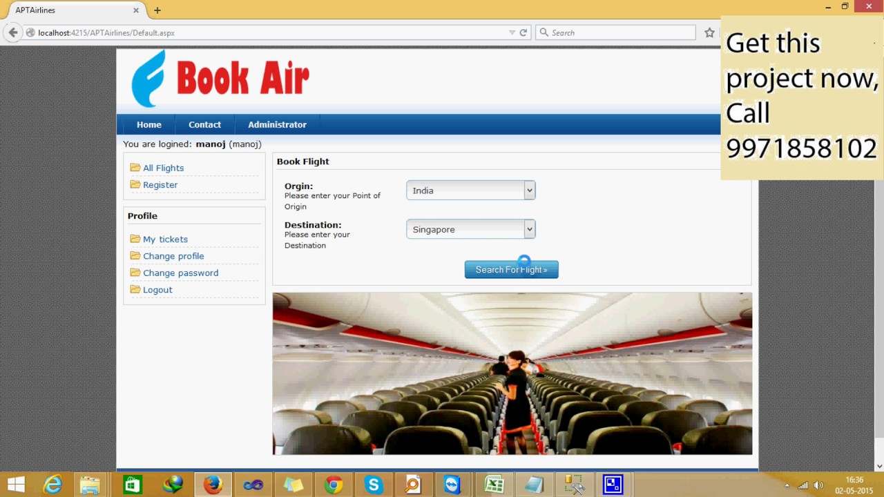 airline reservation system project Download online airline booking system for free not sure why this project was added without a database airline reservation system.