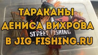 Тараканы от Дениса Вихрова в Jig-fishing.ru(, 2016-08-12T18:17:53.000Z)