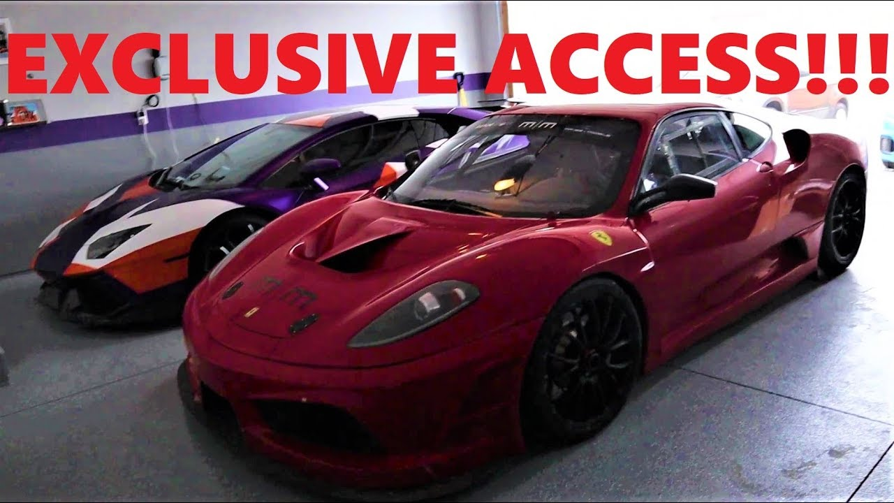 I Found The Stradman S Not So Secret Supercar Collection Youtube