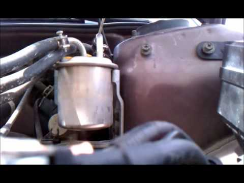Diy 2nd Gen Subaru Legacy Fuel Filter Replacement Youtube