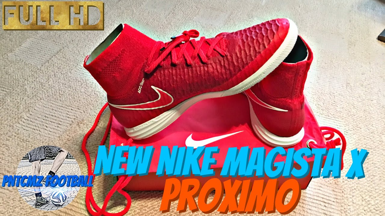 Nowoczesna architektura Unboxing Nike Magista X Proximo IC Red - YouTube UR86