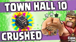 Town Hall 9 Two Starring Town Hall 10s ♦ Bonus: Clash of Clans RAP ♦