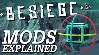bUILDING MODS EXPLAINED!  Besiege BBBBTBB #1