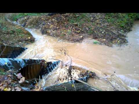 Swollen creek Jackson County, GA