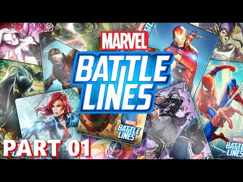 Marvel Battle Lines - Nexon - Gameplay Part 1 - iOS / Andriod
