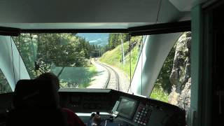 Film 192 HD Impressionen vom Bernina Express Sommer 2013 Chur Tirano Chur