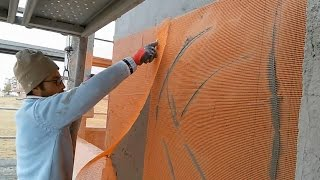 Mantolama FİLESİ Nasıl YAPIŞTIRILIR Sheathing NET How STICKING