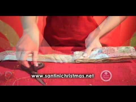 C mo decorar con cintas y lazos santini christmas youtube - Lazos arbol navidad ...