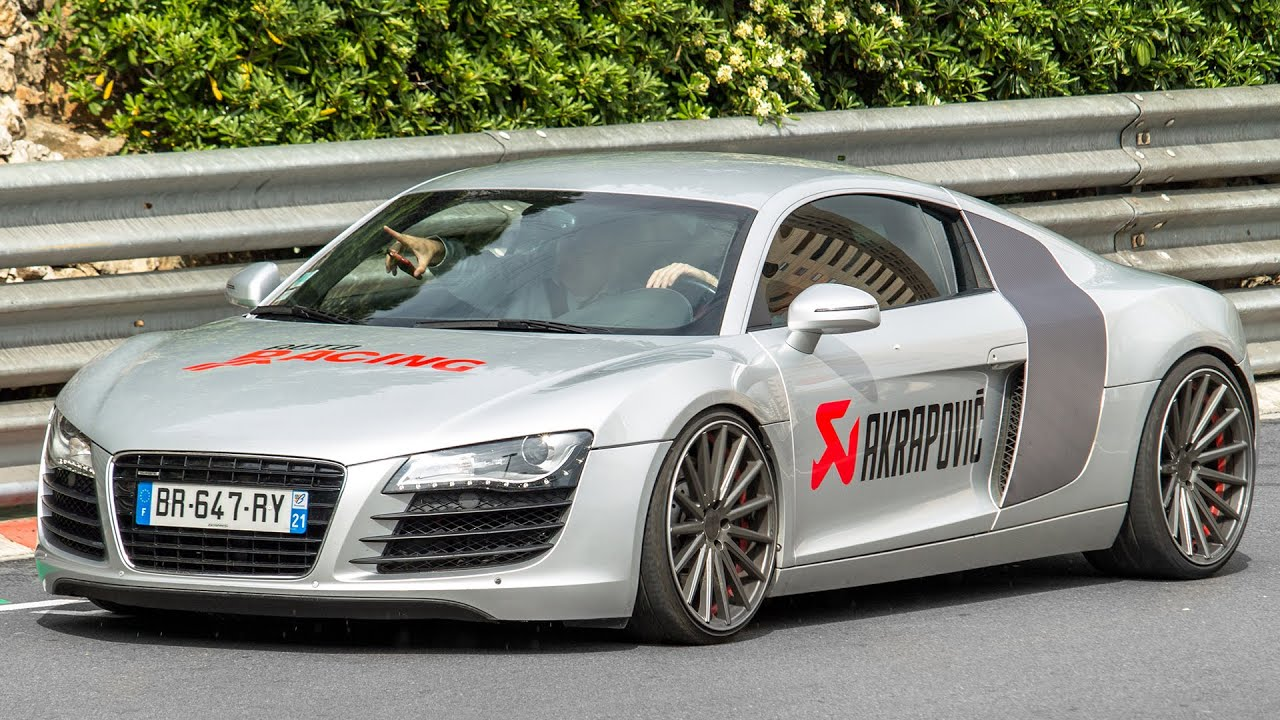 Audi R8 V10 W Akrapovic Exhaust Review Brutal Sound And Driving