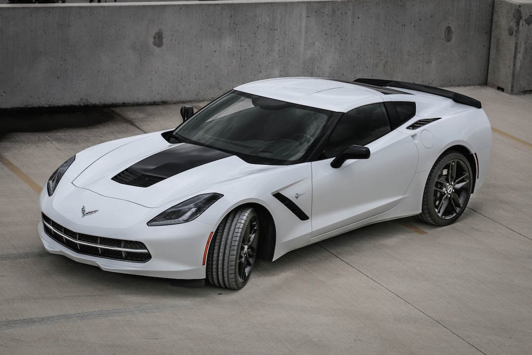 corvette c7 stingray z51 review 8 speed automatic youtube. Black Bedroom Furniture Sets. Home Design Ideas